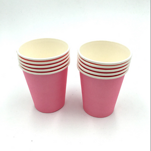 Plain Pusha Pink  Colored Party Cups