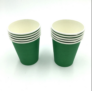 Plain Green  Colored Party Cups