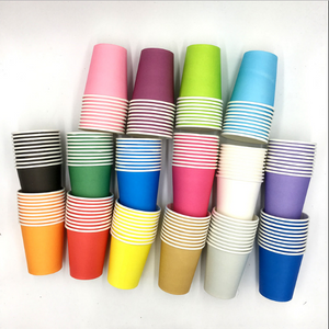 Plain Colored Variety of Party Cups