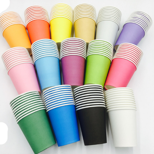 Various Type of Plain Colored Party Cups