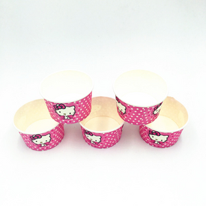 Hello Kitty Polka Dots Theme Disposable Ice Cream/Soup Cups