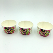Load image into Gallery viewer, 10 PCS. Minnie Mouse Theme Disposable Ice Cream/Soup Cups For Birthday Celebrations