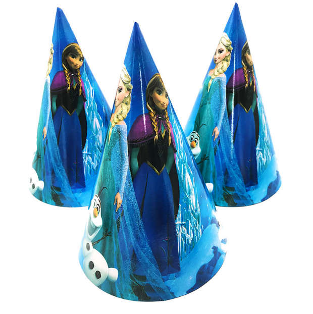 Ana & Elsa - Frozen Theme Party Hats