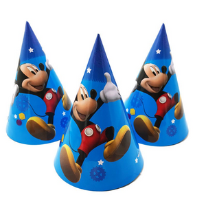 Mickey Mouse Theme Kiddie Party Hats