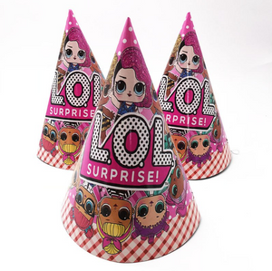 LOL Surprise Kiddie Party Hats