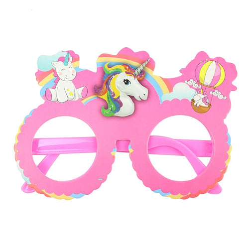 Unicorn Paper Wear Glasses