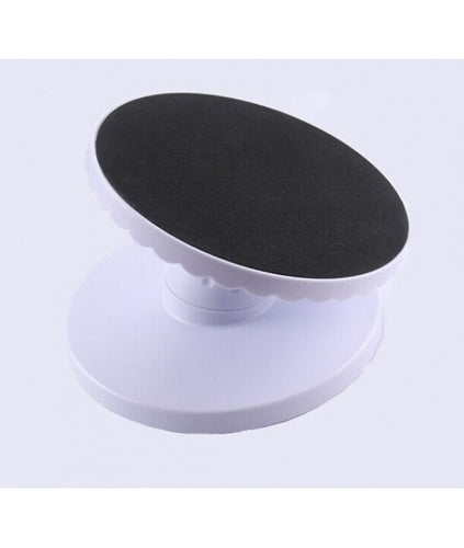 11 inch x 5.4 inch Durable Fondant Revolving Cake Stand
