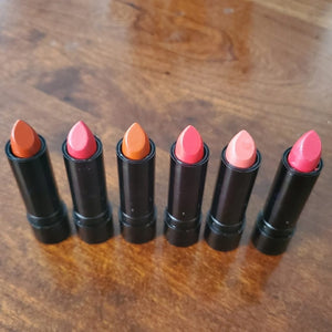 NWOT Princessa Lipstick Reds 7-12 six pc Set