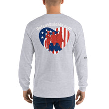 Load image into Gallery viewer, Heartbeat Defeat Suicide Long Sleeve T-Shirt