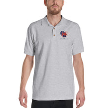Load image into Gallery viewer, Defeat Suicide Embroidered Polo Shirt
