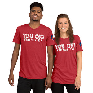 You OK? & Be The Voice Short sleeve t-shirt