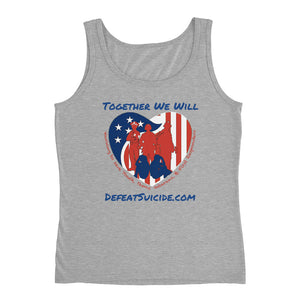 Together We Will Defeat Suicide Tank Top