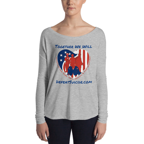 Together We Will Defeat Suicide Long Sleeve Tee