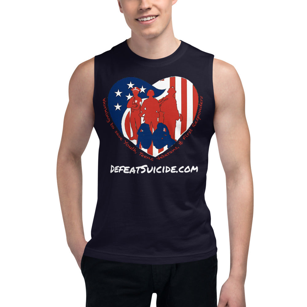 Defeat Suicide Muscle Shirt