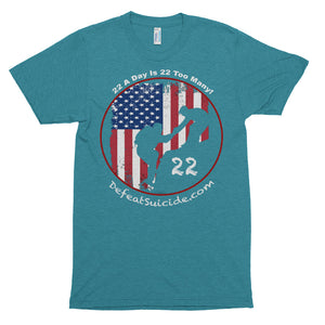 22 A Day Is 22 Too Many Short Sleeve Soft T-shirt