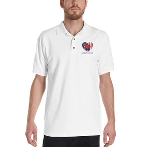 Defeat Suicide Embroidered Polo Shirt