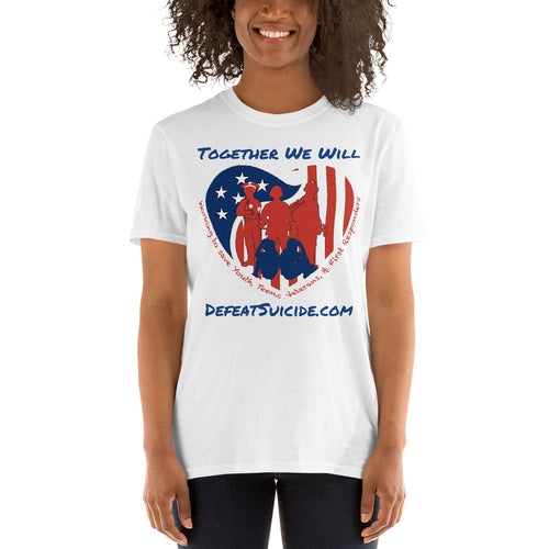 Together We Will Defeat Suicide Short-Sleeve T-Shirt