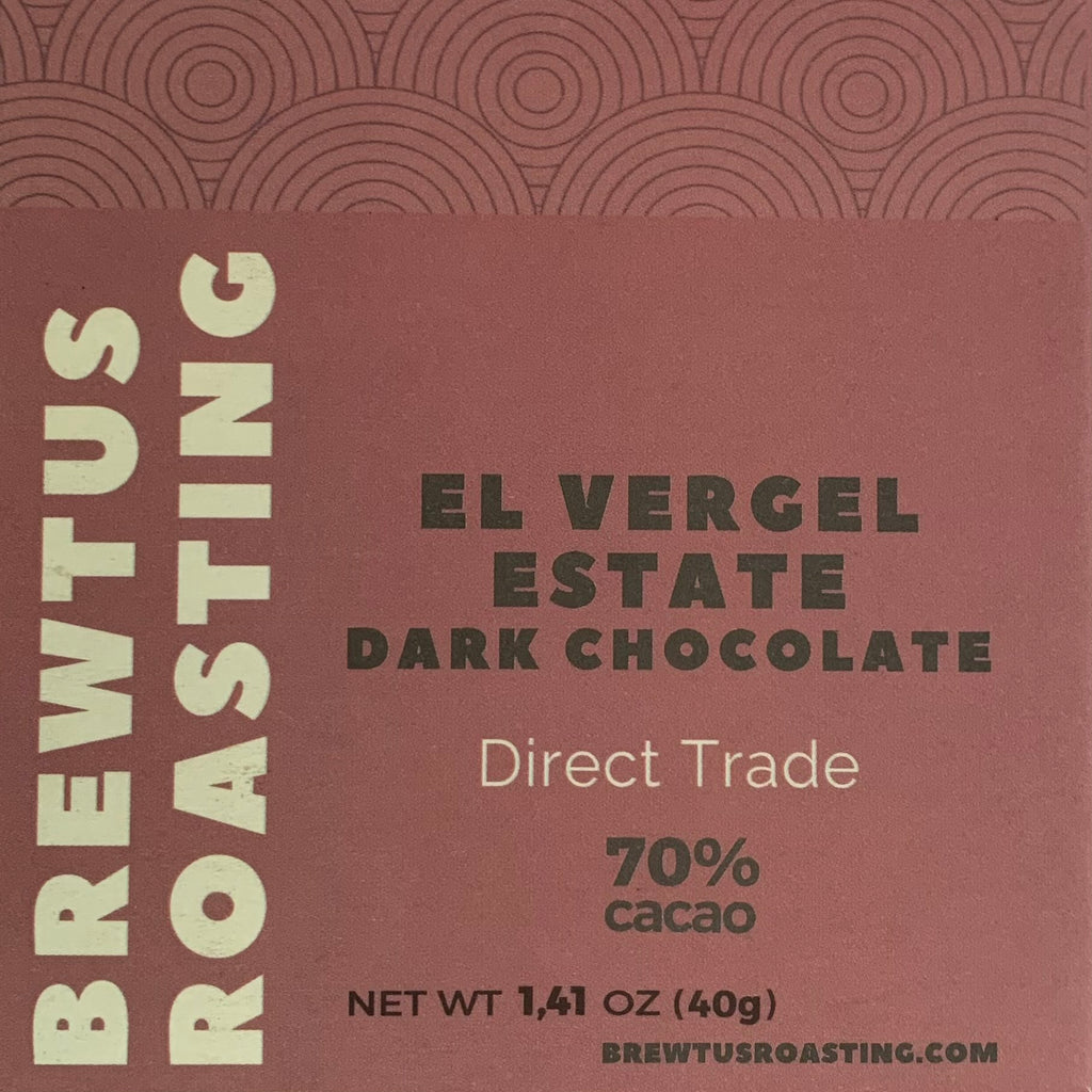 El Vergel Colombia Dark Chocolate Direct Trade