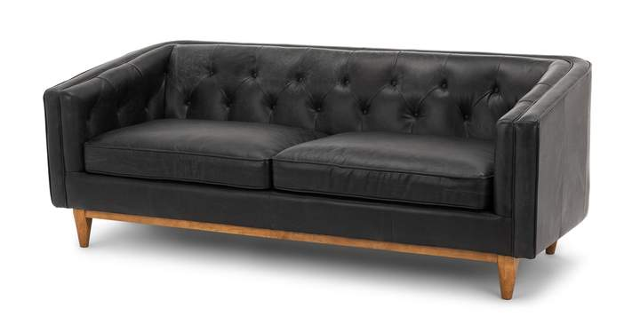Black Leather Sofa Set New York|Couches| LJB Your Home – ljbyourhome