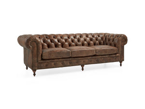 Wessex Leather Sofa