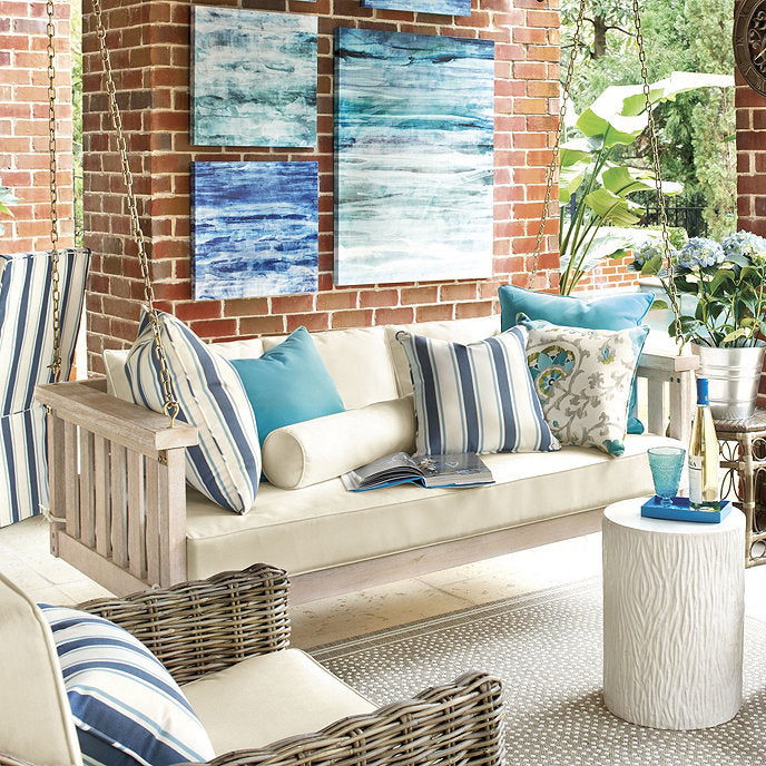 Sunday Outdoor Porch Swing with Cushions