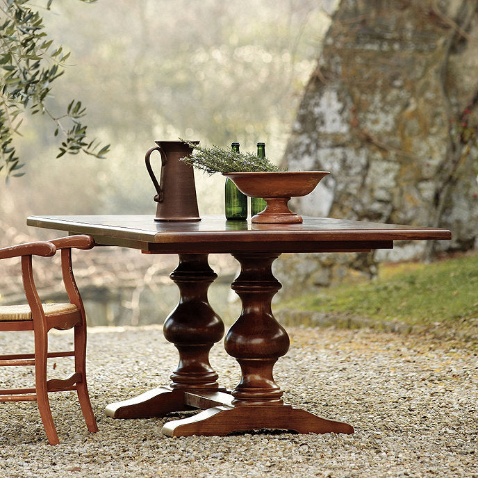 Casa Florentina Tarvine Double Pedestal Dining Table