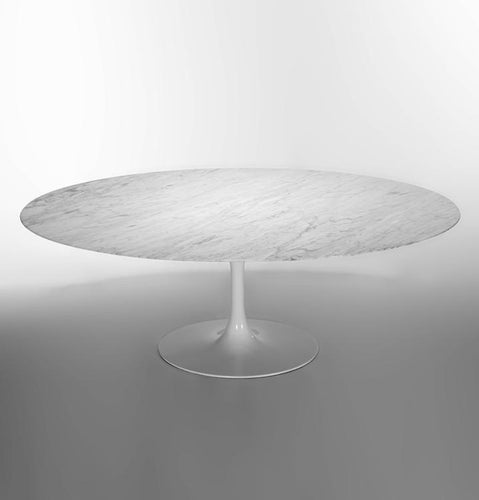 Tulip Dining Table - Oval 168 cm - Marble