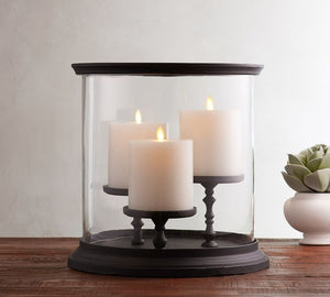 BOOKER MULTI PILLAR CENTERPIECE HURRICANE
