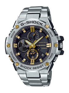 G-Shock G-STEEL Stainless Steel Solar Powered Men's Watch