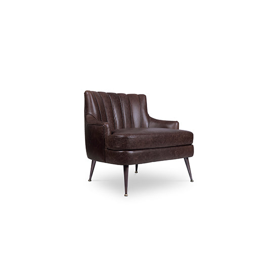Plum ArmChair by Brabbu