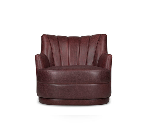 Plum Single Sofa
