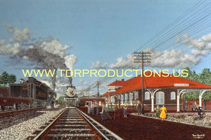 Crew Change (Southern Railway) Prints