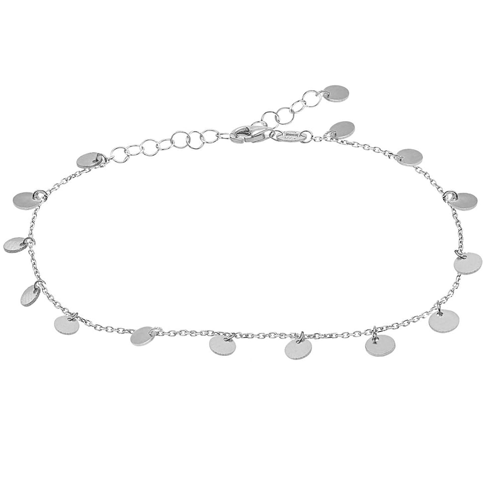 Palmo Sterling Silver Anklet PLM1365A