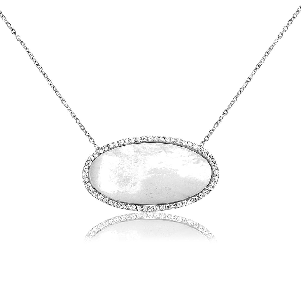 Palmo Sterling Silver Necklace PLM1009N