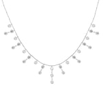 Palmo Sterling Silver Necklace PLM1030N