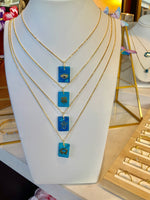 925 Sterling Silver Turquoise Necklaces