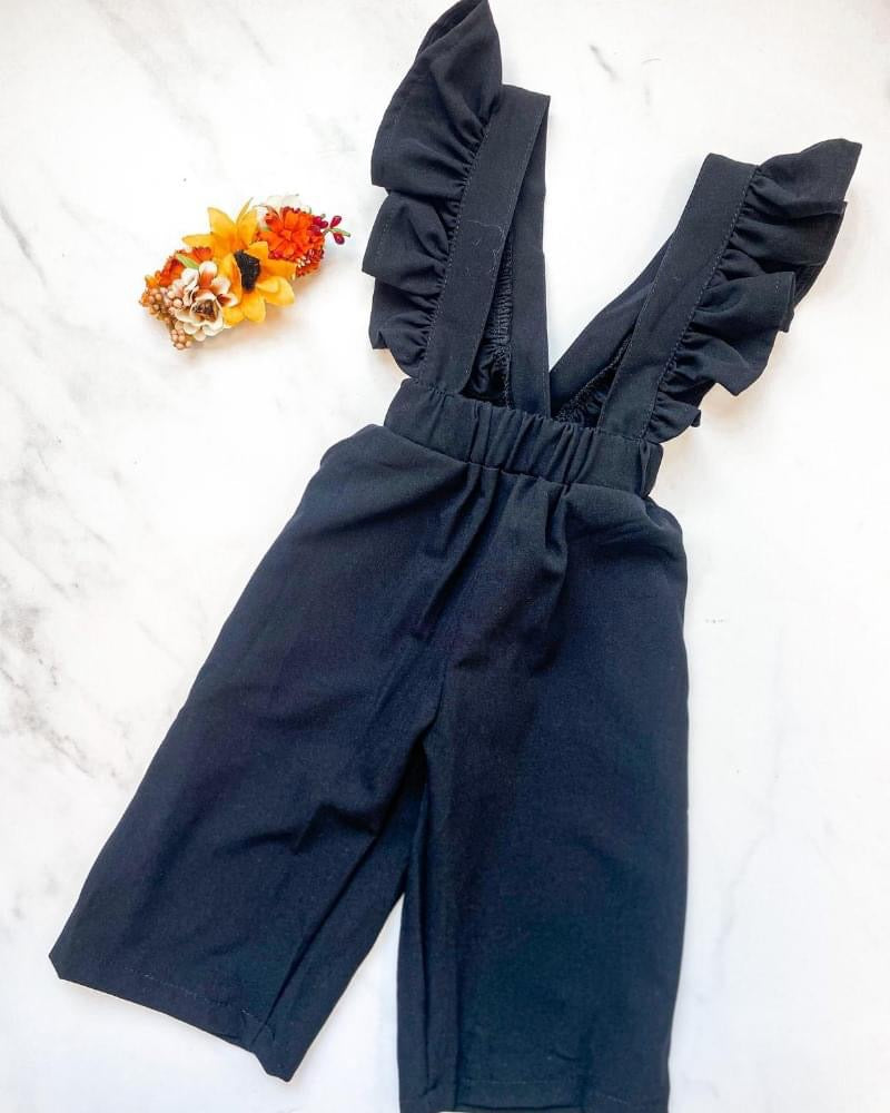 Babes and Tots - Sharlyn Ruffle Suspender Pants