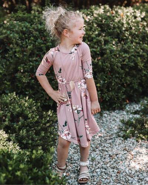 Mommy and Me Harper Dress - Mauve