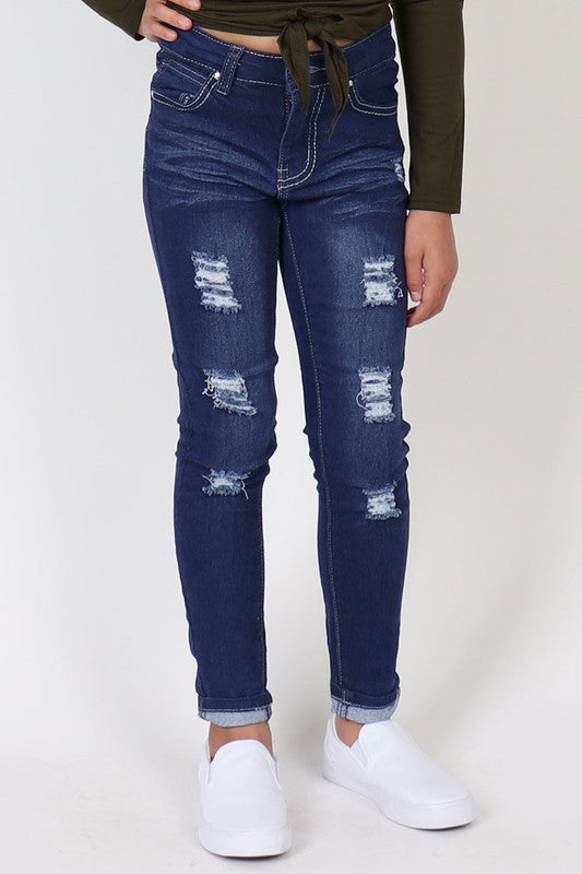 Tween - Distressed Denim