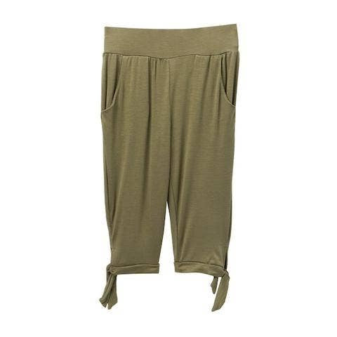 Olive, girls capri pants.