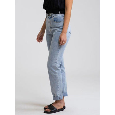 RHYTHM HI-RISE TAPERED JEAN LIGHT WASH