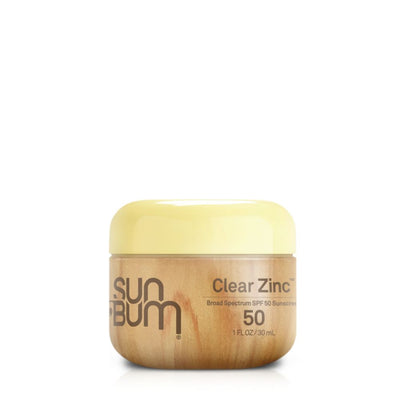 SUN BUM SPF50 CLEAR ZINC SUNSCREEN LOTION