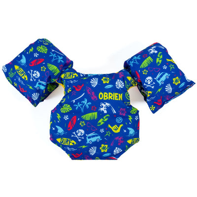 OBRIEN WATER BUG BLUE CHILD VEST