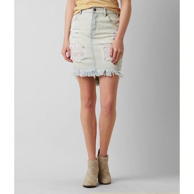 LIRA THE WALK JEAN SKIRT