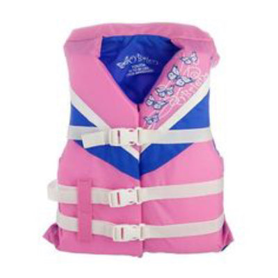 OBRIEN NYLON PINK YOUTH VEST