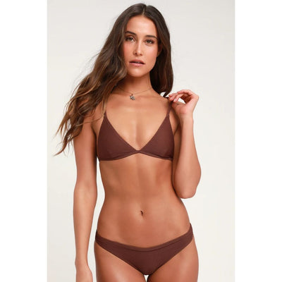 RHYTHM PALM SPRINGS BRALETTE MULBERRY TOP