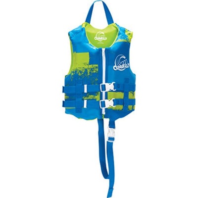 CONNELLY BOYS CHILD VEST BLUE/GREEN