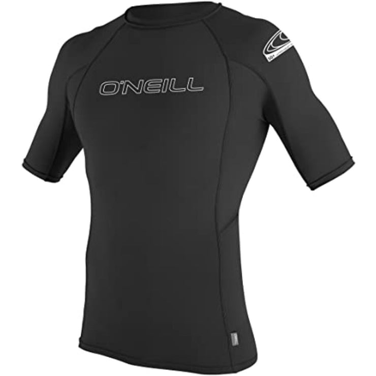 ONEILL BASIC SKINS 50+ S/S RASH GUARD BLACK