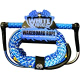 WHITE KNUCKLE WAKE 15'' EVA HANDLE WITH 75' LINE