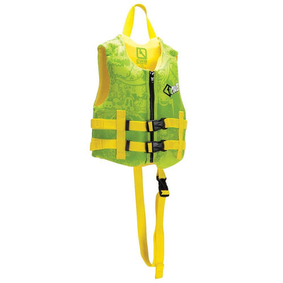 CWB BOYS CHILD VEST GREEN